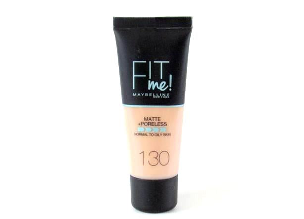 Make up Fit me Maybelline Matte + Poreless 30ml  Buff Beige 130 - Miss Beauty shop