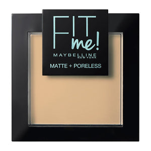 Fit me Maybelline Matte+Poreless Πούδρα 220 Natural Beige - Miss Beauty shop