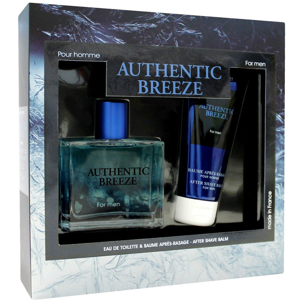 Σέτ Αρώματος 100ml Authentic Breeze 100ml & 100ml After Shave Balm