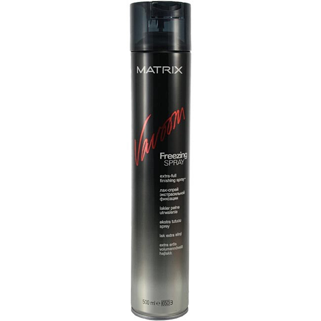 Λάκ Μαλλιών Για Δυνατό Κράτημα Matrix extra-full Vavoom Freezing Spray 500ml - Miss Beauty shop