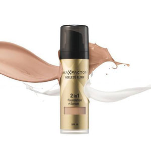 Make Up Ageless Elixir Miracle Foundation 50 Natural Spf 15 30ml Max Factor - Miss Beauty shop