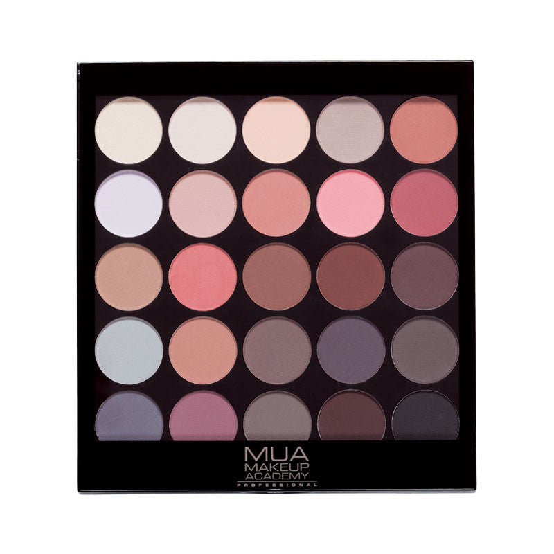 25 Σκιές Vegan σε παλέττα Mua Matte Supreme  Palette 17gr - Miss Beauty shop