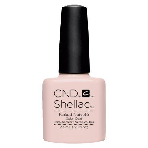 Ημιμόνιμο Βερνίκι Cnd Shellac 7.3ml Naked Naivete - Miss Beauty shop