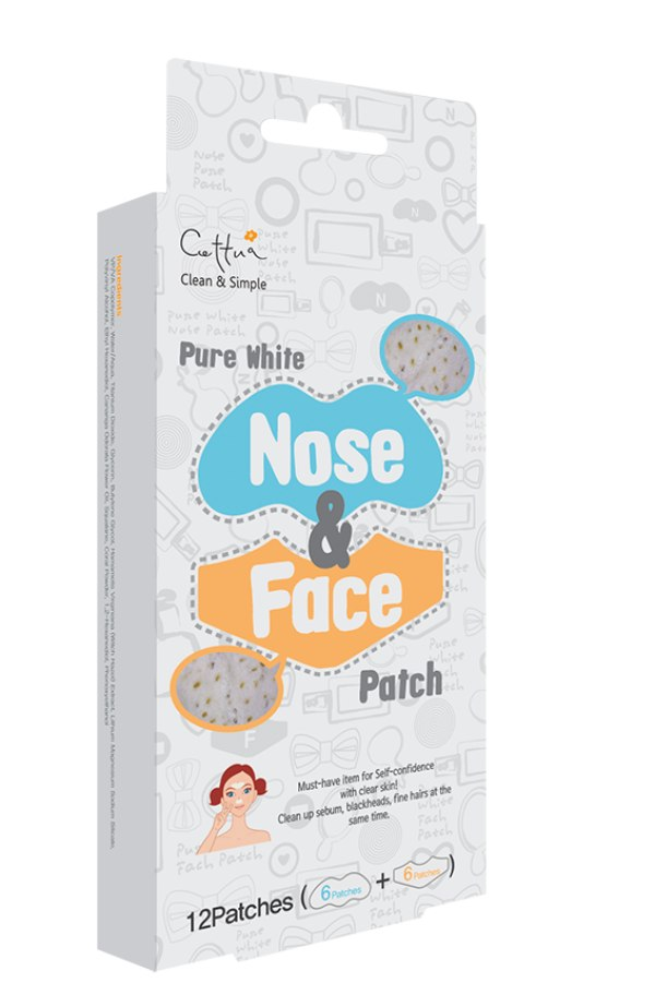 Cettua Clean & Simple Pure White Nose & Face Patch