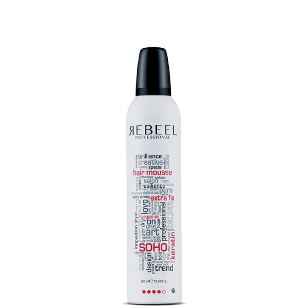 Αφρός Μαλλιών Rebeel SOHO Hair mousse extra fix 300ml