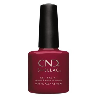 Ημιμόνιμο Βερνίκι Cnd Shellac 7.3ml Rouge Rite - Miss Beauty shop