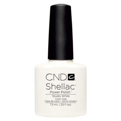 Ημιμόνιμο Βερνίκι Cnd Shellac 7.3ml Studio White - Miss Beauty shop