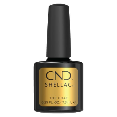 Ημιμόνιμο Βερνίκι Cnd Shellac 7.3ml Top Coat - Miss Beauty shop