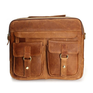 Genuine Leather Men Bags Man * Crossbody Shoulder Handbag * Men Messenger Bags Male Briefcase Men's Travel