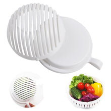 Load image into Gallery viewer, Salad Cutter Bowl 60 Seconds Easy Salad Maker Fruit Vegetable Kitchen Tools Chopper Cutter Quick Kitchen Accessories