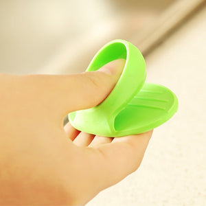Silicone Heat Resistant Gloves Clips Insulation Non Stick Anti-slip Pot Bowel Holder Clip Cooking Baking Oven Mitts