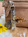 "Bumble Bee & Citrine Elixir Hand sanitizer ""PROTECTOR"" Glass bottle"