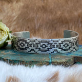 Southwest sterling silver cuff