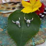 Mini Steer post earrings