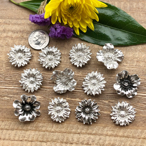 Wild flower Castings - Large