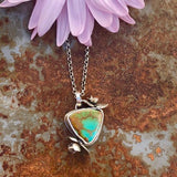 Succulents and turquoise Necklace III