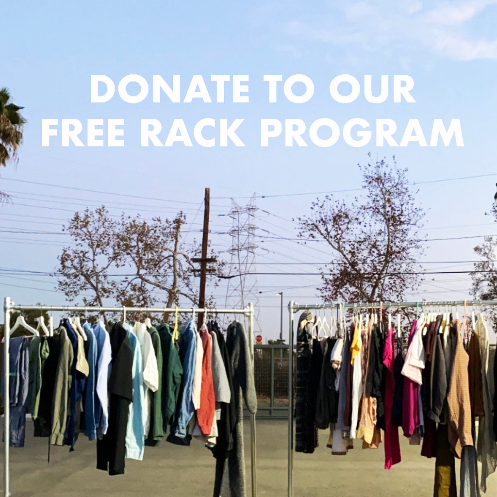 Donate to the Suay Sew Shop Free Rack Program
