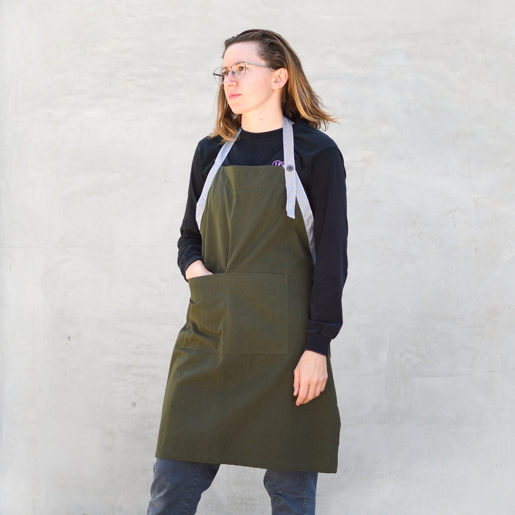 Deadstock Japanese Cotton Ripstop Apron