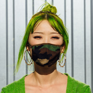 Deadstock Japanese Cotton Ripstop Mask