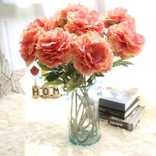 Load image into Gallery viewer, artificial flowers for decoration peony Artificial Flower For Home Decoration flores artificiais atacado