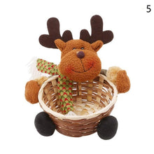 Load image into Gallery viewer, 2018 New Convenient Beautiful Christmas Candy Storage Basket