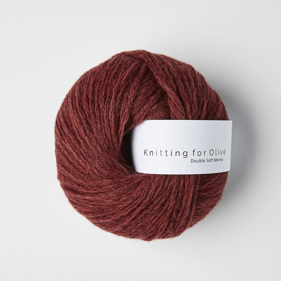 Vinrød -	Double Soft Merino