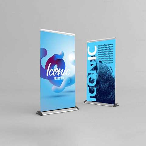 Same Day Table Roll Up Banner Edmonton Alberta