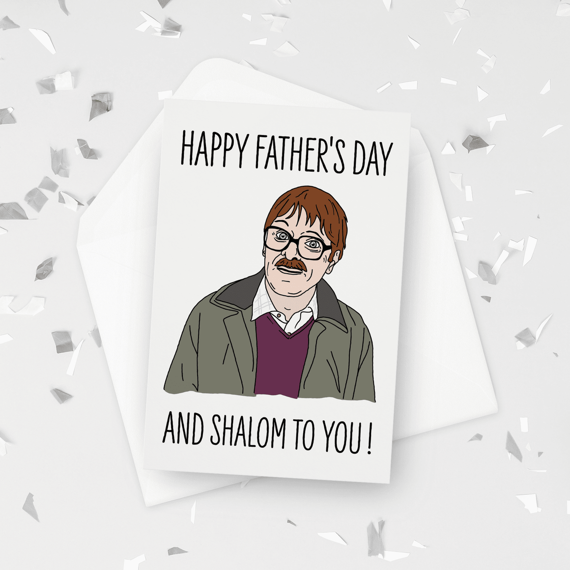 Happy Father's Day and Shalom To You Jim Friday Night Dinner Father's Day Card