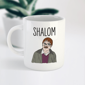 Shalom Jim Friday Night Dinner Funny Ceramic Coffee Tea Mug / Cup