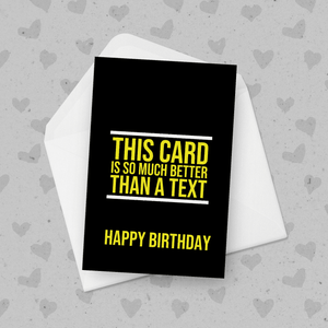 This Card Is So Much Better Than a Text Birthday Card