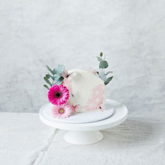 Bake Me Up Sideways Cake With Florals by Tania Nikolov