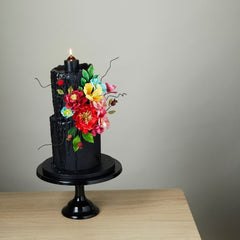 Bake Me Up Gothic Candle Rose Gloriousness by Penny Bunz