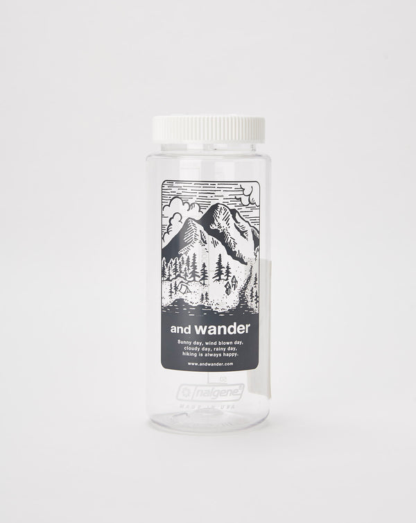 and Wander Nalgene Water Bottle (Grey)