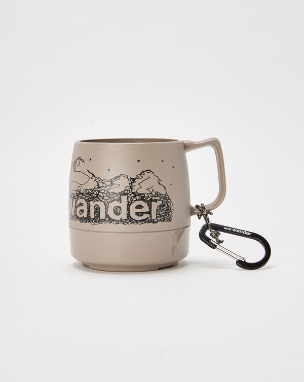 and Wander Dinex Mug (Grey)