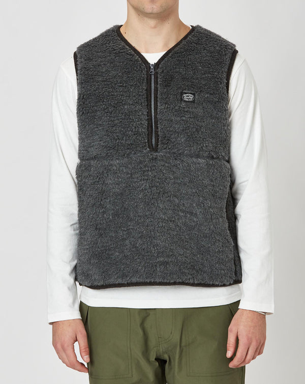 Snow Peak Wool Fleece Vest (Grey)
