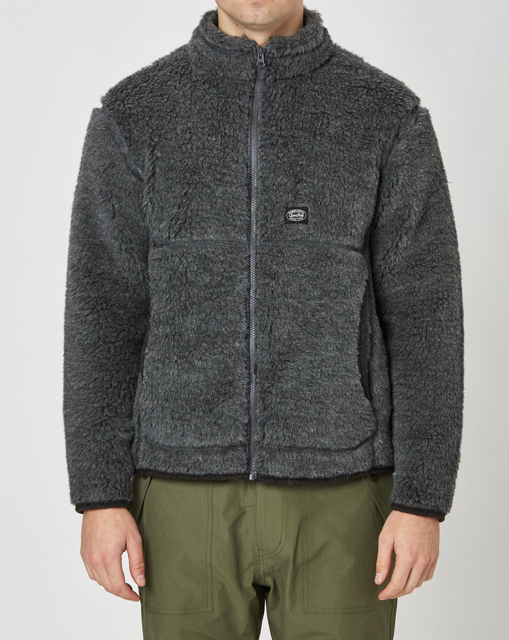 Snow Peak Wool Fleece Jacket (Grey)