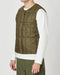 Snow Peak Recycled Middle Down Vest (Olive)