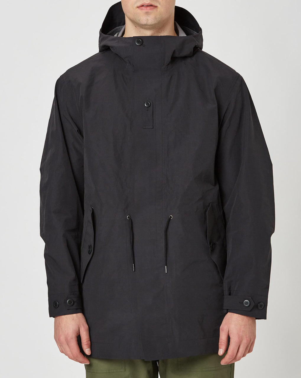 Snow Peak eVent C/N Rain Jacket (Black)