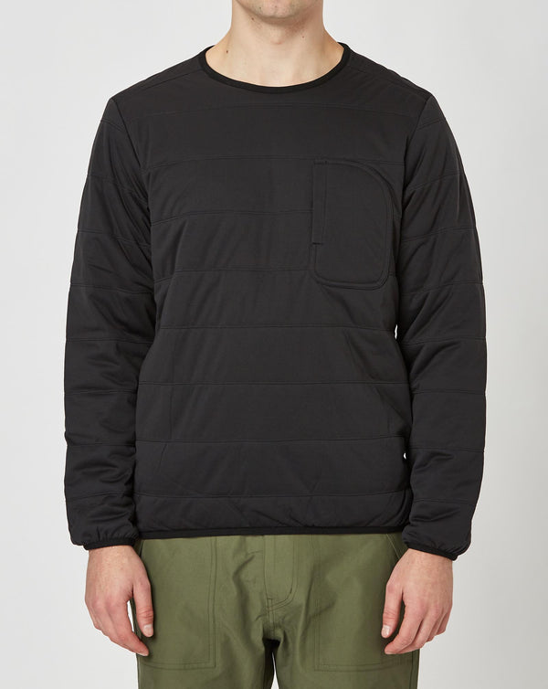 Snow Peak Flexible Insulated Pullover (Black)