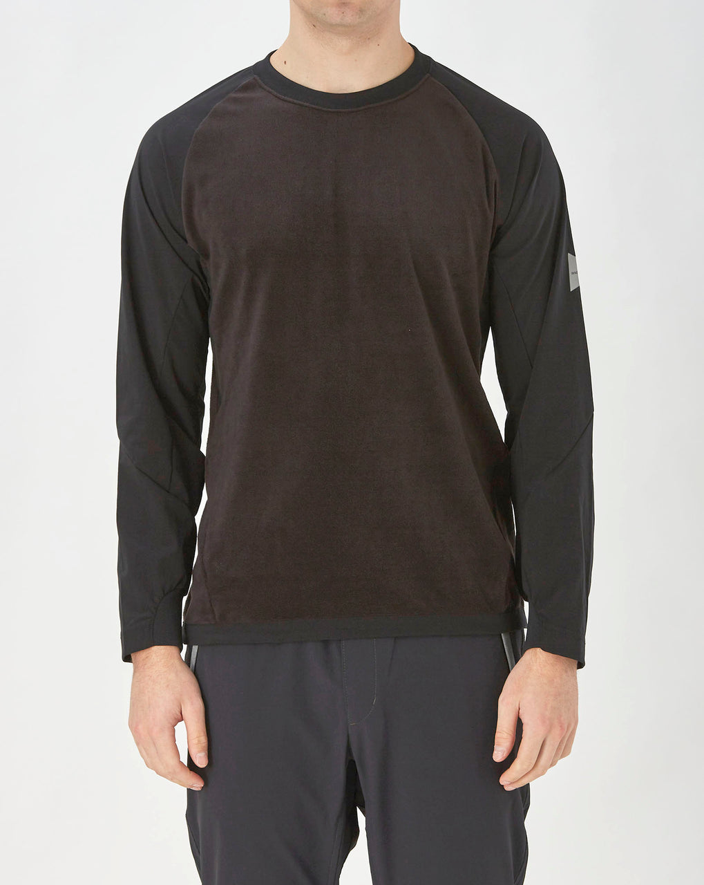 and Wander Fleece Base T (Black)