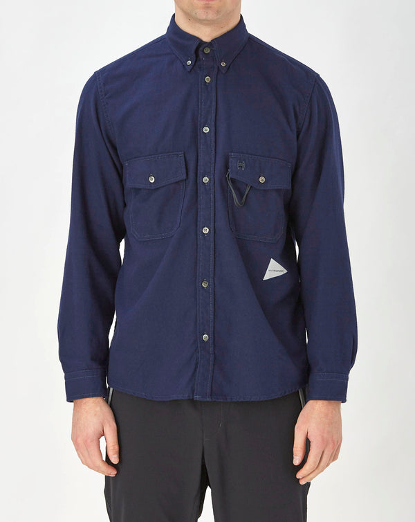 and Wander Thermonel Shirt (Navy)