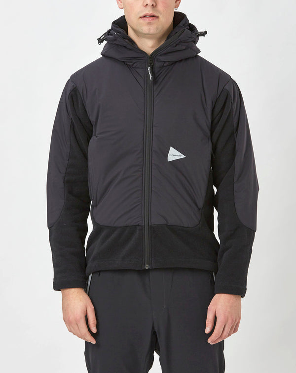 and Wander Top Fleece Jacket (Black)