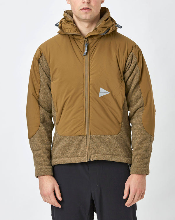 and Wander Top Fleece Jacket (Beige)