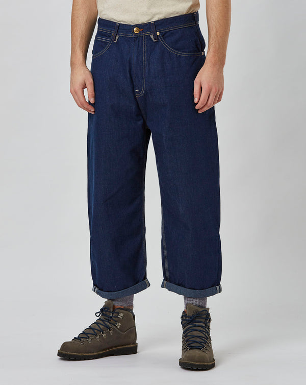 Lee x Timberland Loose Crop Jean (Rinsed)
