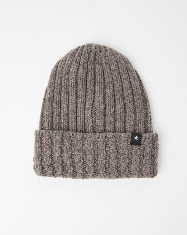 Snow Peak Washable Wool Knitted Cap (Grey)