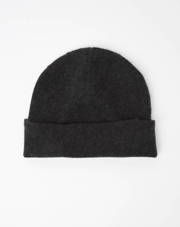 Atelier Alpinisté Model 3 Cashmere/Merino Single Layer Beanie (Black)