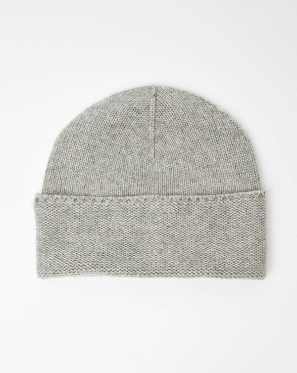 Atelier Alpinisté Model 3 Cashmere/Merino Single Layer Beanie (Light Grey)