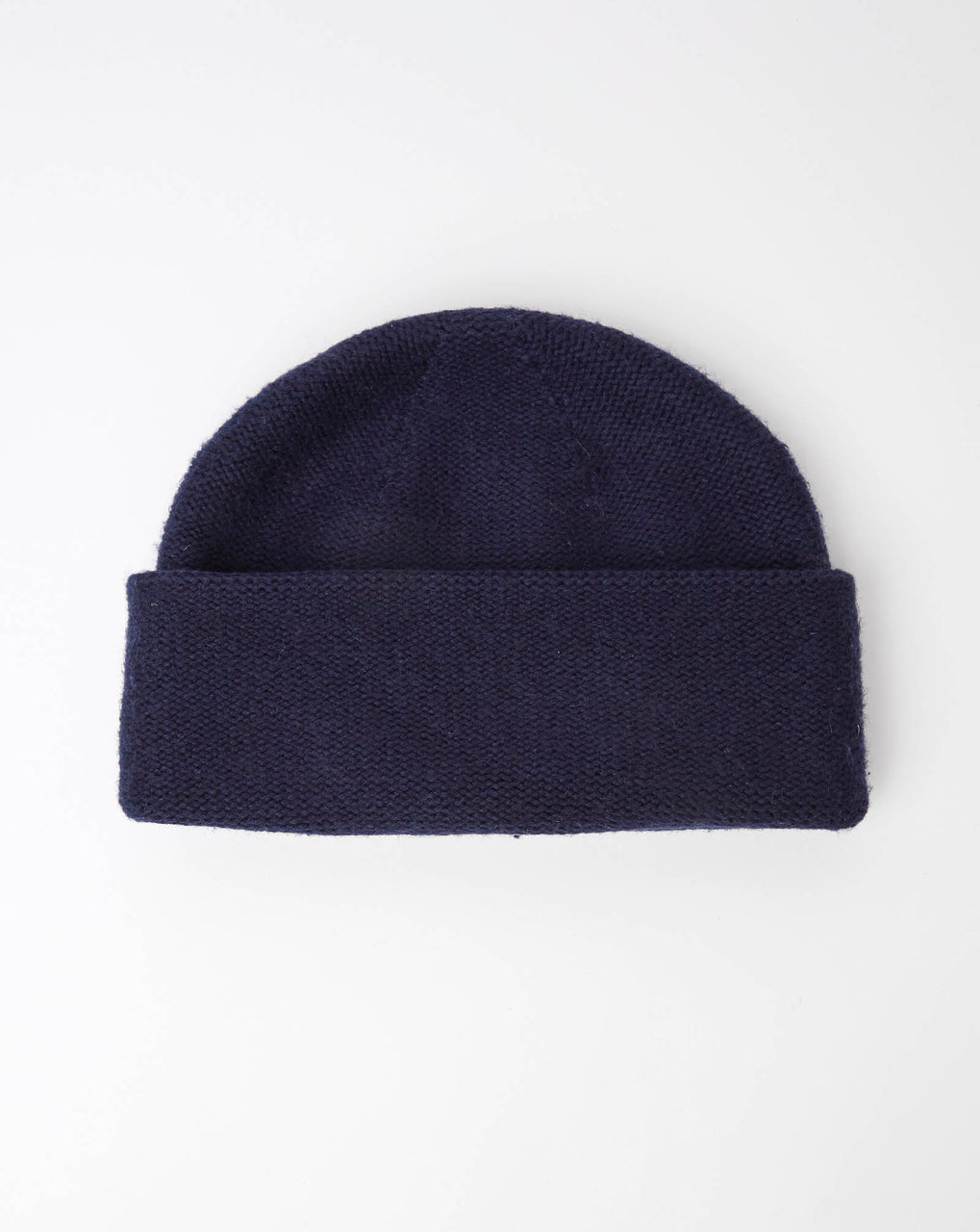 Atelier Alpinisté Model 2 Merino Double Layer Beanie (Navy)