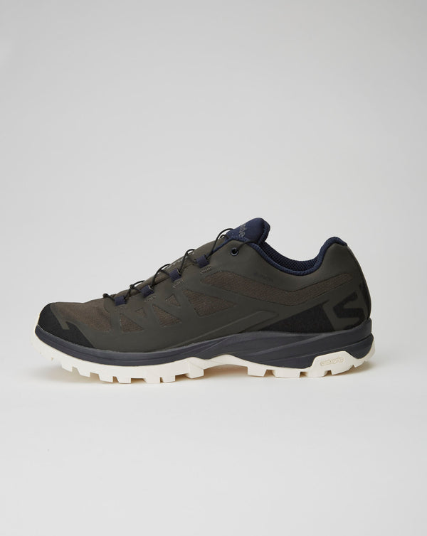 and wander Salomon Outpath GTX (Peat/Beluga/White)