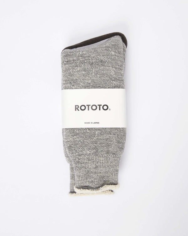 RoToTo Double Face Socks (M. Grey)